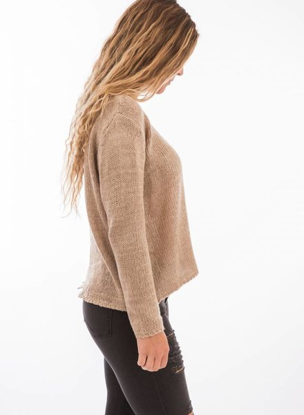 TSALT Split Back Sweater