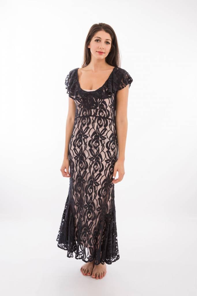 TSALT Lace Dress Blue M