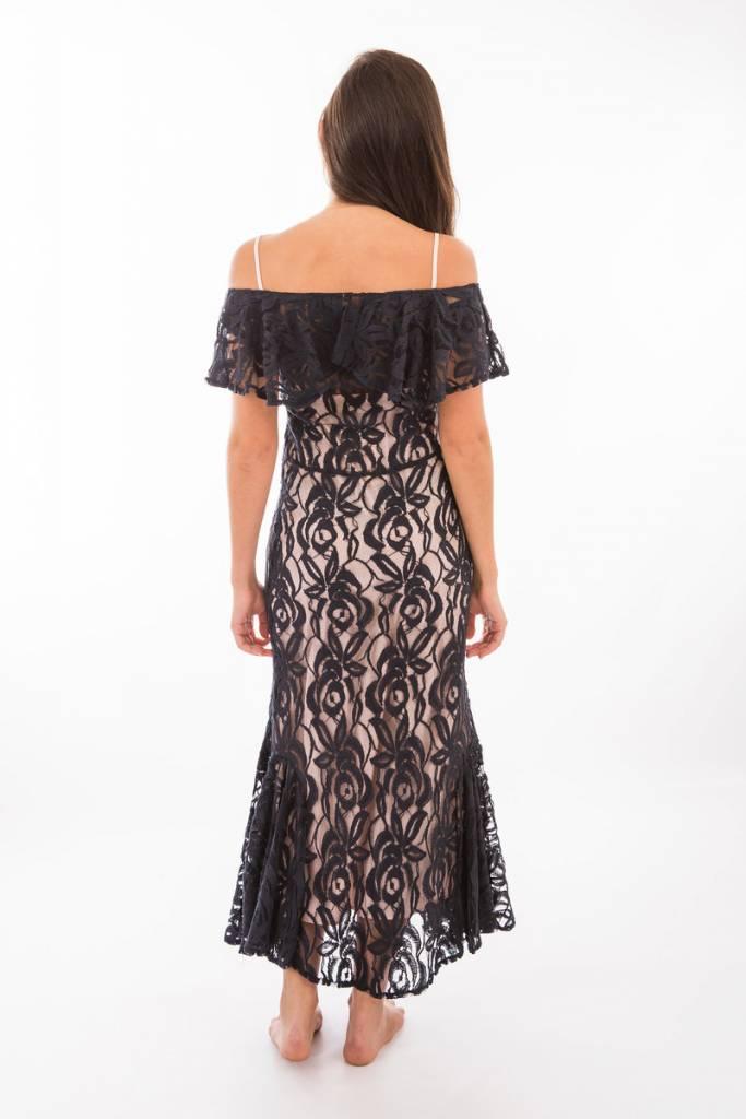 TSALT Lace Dress Blue L