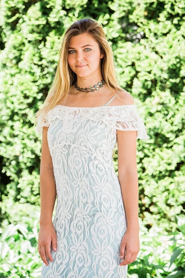 TSALT Lace Dress Ivory L