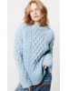 SMYTHE Handknit Cable Knit Crew