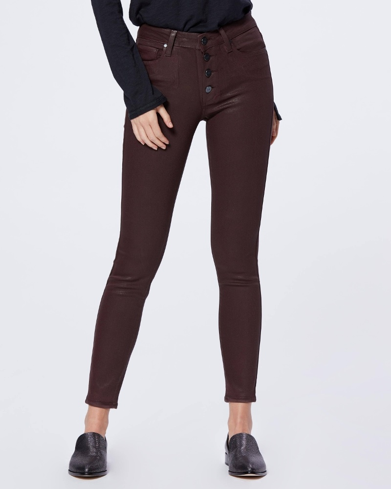 PAIGE Hoxton Ultra Skinny w/Exposed Buttonfly