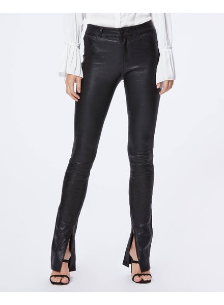 PAIGE Constance Leather Skinny