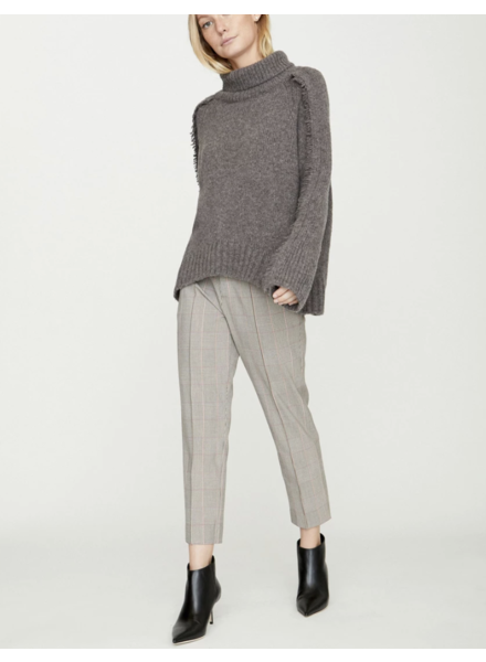 BROCHU WALKER Odene Fringe Turtleneck