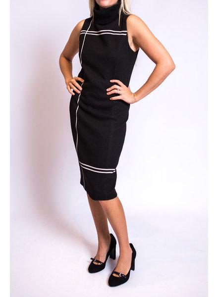 Iris Setlakwe Jil Plaid Dress w/Knit Collar