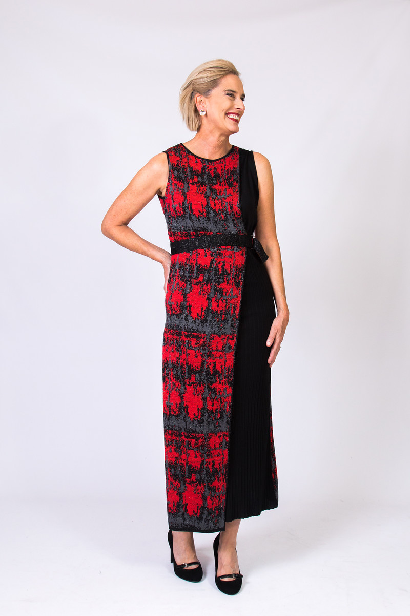KNITSS Varanasi Dress
