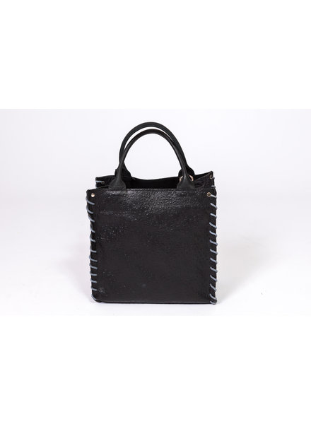 LET&HER ltd Mini Aztec Bag Patchwork Black