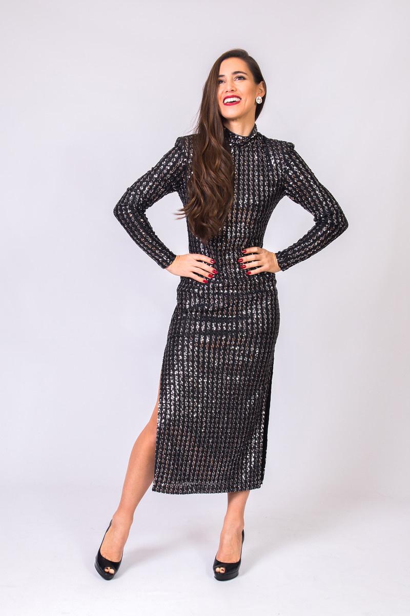 SMYTH Side Slit Dress
