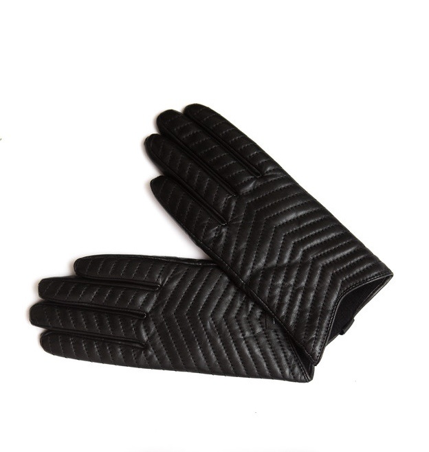 Mackage Ladies Quilted Leather Gloves