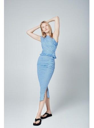 SMYTHE Asymmetrical Skirt