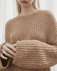 NANUSHKA Saio Open Back Crewneck Sweater