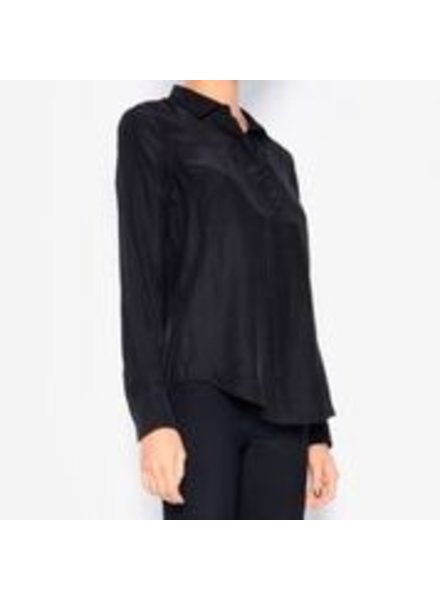 Elaine Kim Rossmore Silk Blouse with Pockets