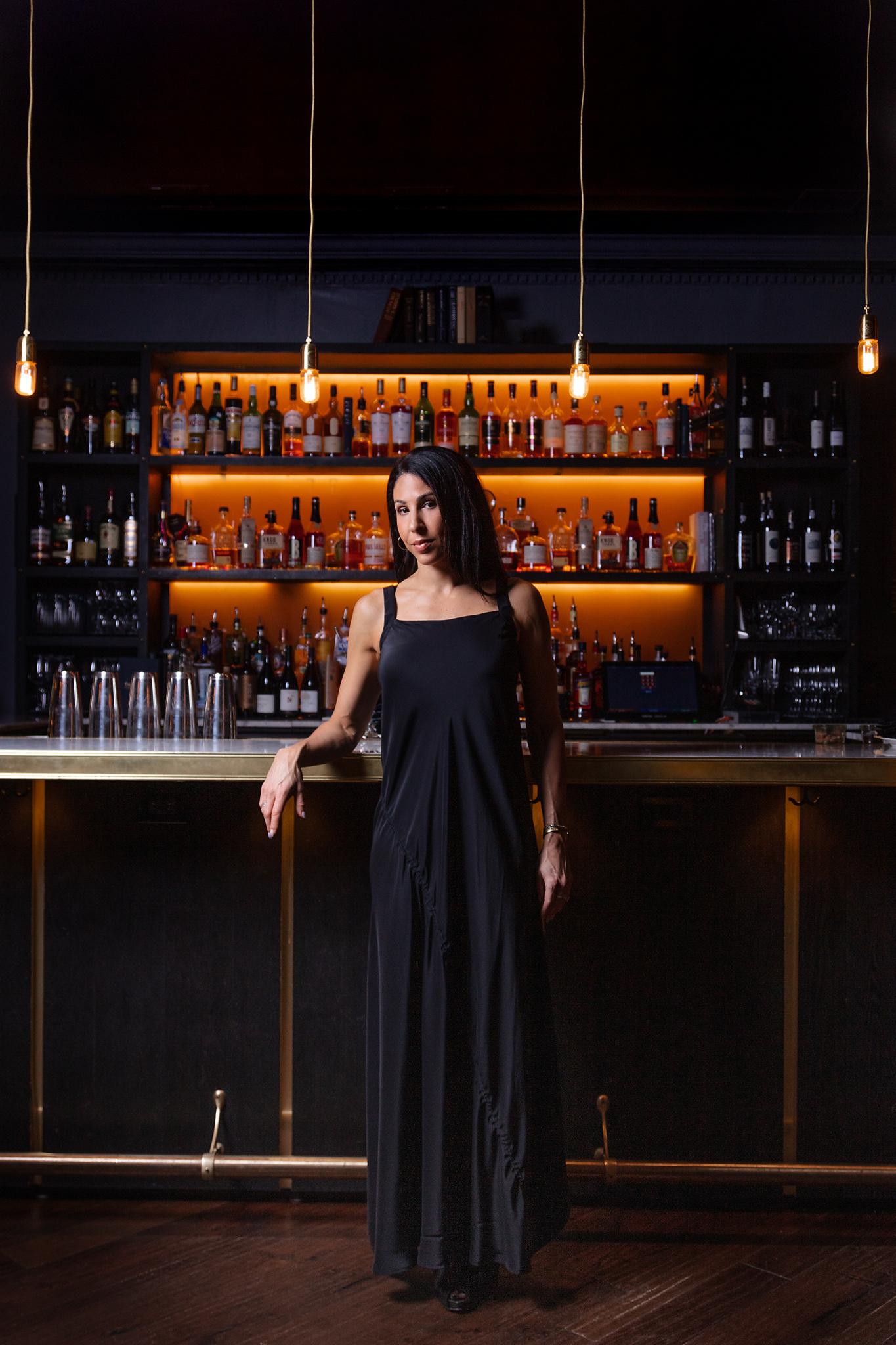 Elaine Kim Shay Silk Maxi Dress with Asymmetric Draw String