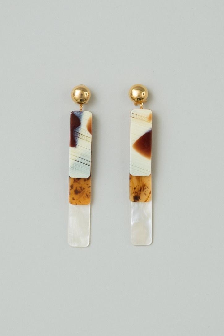 Rachel Comey Maras Earring Amber/Multi-Gold