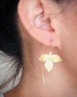 Thai Jewelry Floral Studs