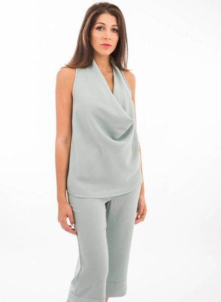 TSALT Veronica Cowl Neck Top