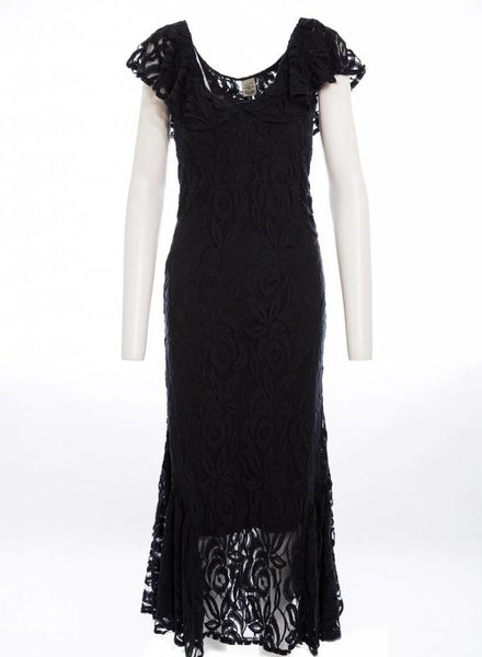TSALT Lace Dress Black S