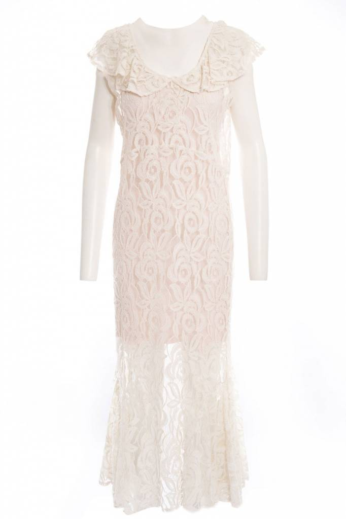 TSALT Lace Dress Ivory S