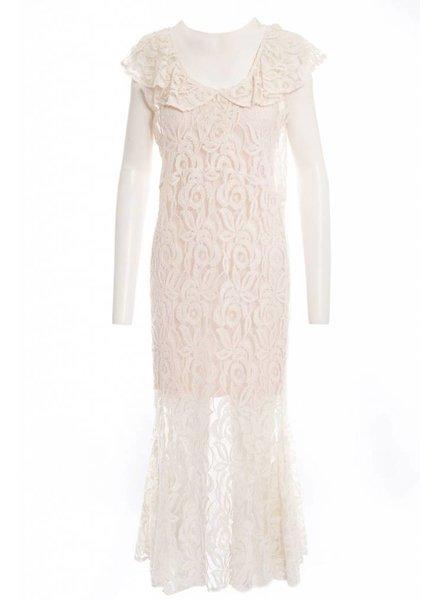 TSALT Lace Dress Ivory M