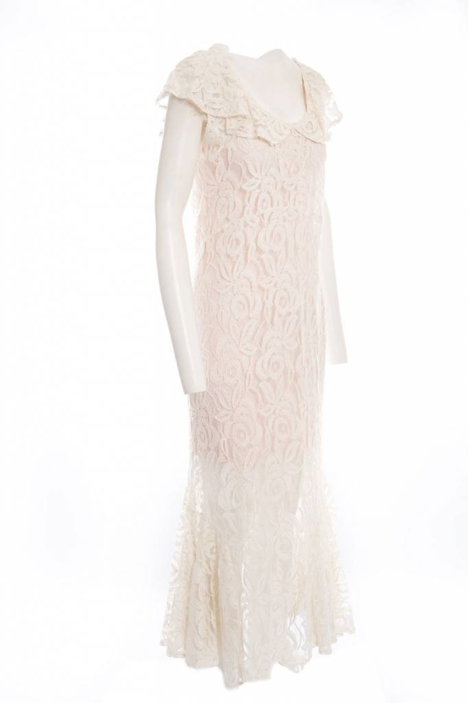 TSALT Lace Dress Ivory M