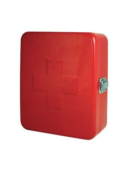 KIKKERLAND FIRST AID BOX RED