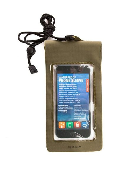 KIKKERLAND WATERPROOF PHONE SLEEVE