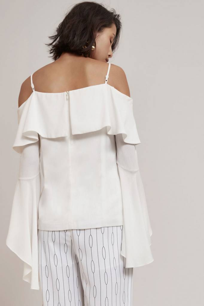 C/MEO COLLECTIVE Compose Long Sleeve Top