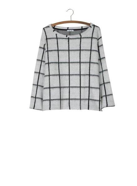 FRINGOMANIA Window Pane Sweater