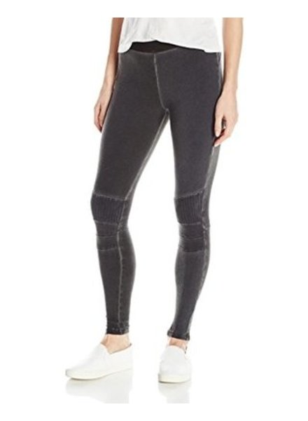 DAVID LERNER Stitched Moto Legging