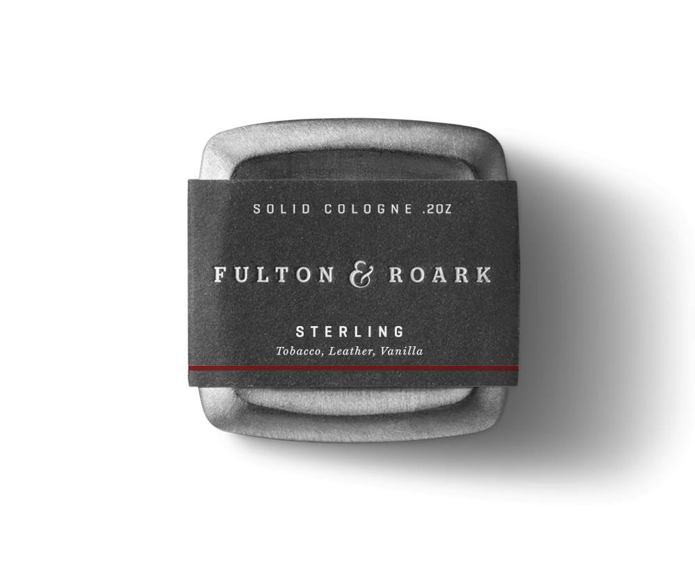 FULTON & ROARKE MEN'S SOLID COLOGNE STERLING