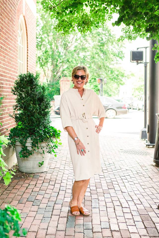 SHOP THE LOOK TRENCH DRESS
