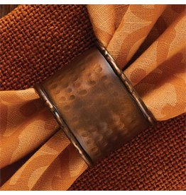 PARK DESIGNS HAMMERED COPPER FINISH NAP RING