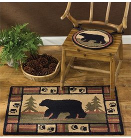PARK DESIGNS ADIRONDACK BEAR HOOK RUG 24X36
