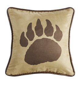 HIEND BEAR CLAW PILLOW 17.2X18