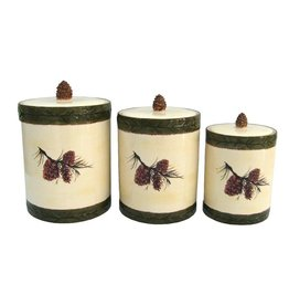 HIEND PINECONE CANISTER/MED