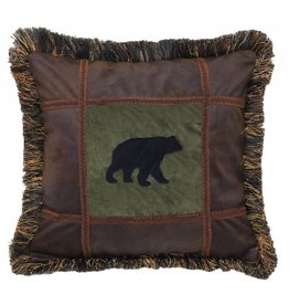 Carstens Bear on Pine Pillow (Takoma)