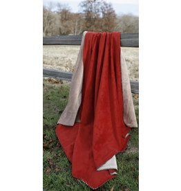 Carstens Red Throw
