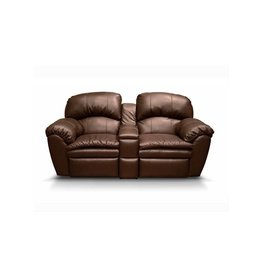 ENGLAND FURNITURE Milford Double Reclining Loveseat Console