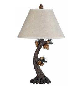 CAL LIGHTING Pinecone Table Lamp