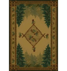 UNITED WEAVERS Forest Trails Rug - Scatter