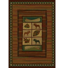 UNITED WEAVERS Highland Falls Lodge Rug - Runner