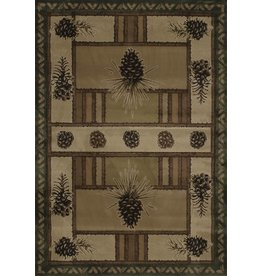 UNITED WEAVERS Pine Barrens Beige Rug - Runner