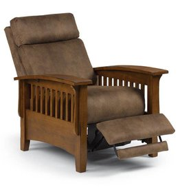 BEST Tuscan Three-Way Power Recliner Leather