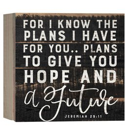 P GRAHAM DUNN For I Know The Plans I Have For You - Boxed Pallet