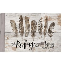P GRAHAM DUNN Take Refuge In Your Wings - Boxed Pallet
