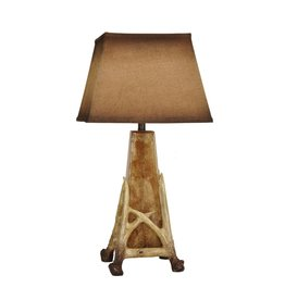 CRESTVIEW Antler Cage Table Lamp DS
