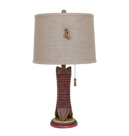 CRESTVIEW Canoe Table Lamp DS