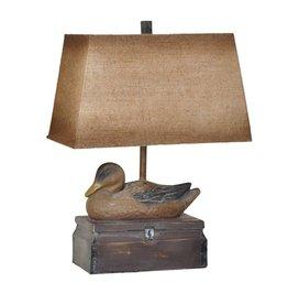 CRESTVIEW Vintage Duck Table Lamp DS