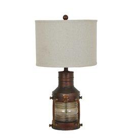 CRESTVIEW Copper Lantern Table Lamp DS