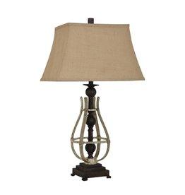 CRESTVIEW Braxton Table Lamp DS